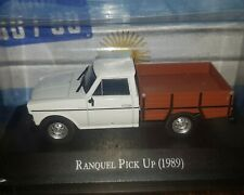 "RANQUEL PICK UP (1989) - ARGENTINA ""Unforgettable Cars"" diecast 1:43"
