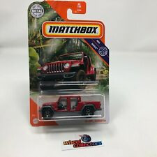 '20 Jeep Gladiator #60 * RED * 2020 Matchbox Case X