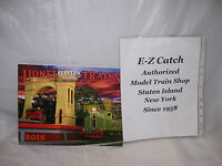 MTH Lionel Corp. Brand New 2016 Tinplate Color Catalog Standard & O Gauge Trains