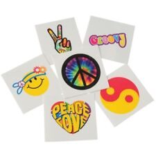 Bulk Lot of 144 Retro Temporary Tattoos kids birthday party favours