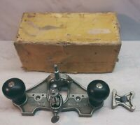 Vtg Stanley No. 71 Router Plane - USA woodworking hand tool Type 13
