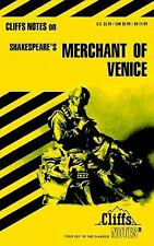 Cliffsnotes MERCHANT OF VENICE Shakespeare essay study cliffs notes