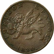 [#483089] Coin, IONIAN ISLANDS, 2 Lepta, 1820, VF(30-35), Copper, KM:31