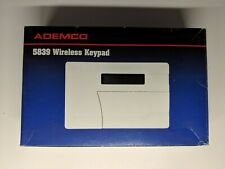 Ademco Wireless Security System Keypad 5839 New Old Stock.