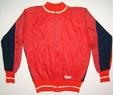 Bicycle jacket Gerber Wool sweatshirt rare red sweater wool cycling vintage