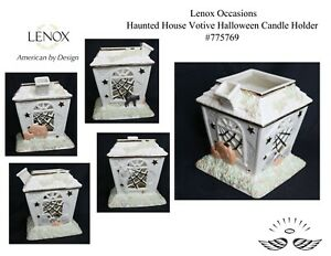 Lenox Occasions Haunted House Votive Halloween Candle Holder #775769