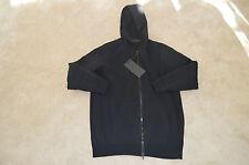 Alexander Wang x H&M Black Scuba Hoody Hoodie Zip Jacket Mens Size Small S New