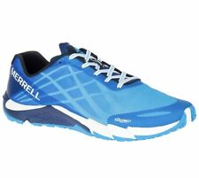 Merrell Mens Bare Access Flex Cyan Sneakers Shoes Hiking Trail Size 10