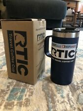 New RTIC 16oz Travel Coffee Cup Mug ~ Insulated Freedom Blue