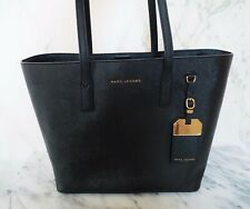 Marc Jacobs The Sidekick Luggage Tote Saffiano Leather Black Handbag New Tags