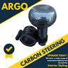 Carbon Effect Look Car Van Steering Wheel Knob Handle Help Spinner Turning Ball