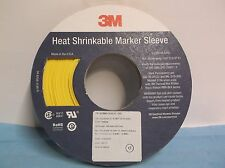 NEW 3M  HEAT-SHRINKABLE MARKER SLEEVE 100ft L. MADE IN USA  (C8S)