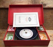 Vintage K&C Roulette Game/Wheel/Board Game/Retro Casino Gambling Game