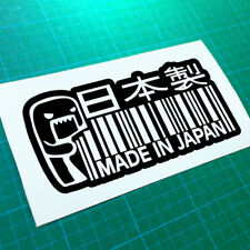 Fabriqué au Japon custom DOMO KUN Decal Autocollant Jdm Jap Euro Vag Voiture Drift Turbo DUB