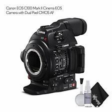 Canon EOS C100 Mark II Cinema EOS Camera 0202C002 +Dual Pixel CMOS AF (Body Only