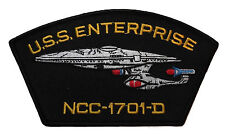 Star Trek: TNG NCC 1701-D Iron-on/Sew-on Embroidered PATCH