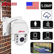 5Mp Wireless Home Security Camera System 2Way Audio Pan Tilt Talk Outdoor Cctv