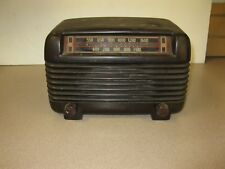 Vintage Philco Bakelite 5 Tube Transitone Vaccum Radio Model 46 250 Untested