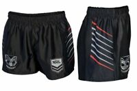 New Zealand Warriors 2021 NRL Home Supporters Shorts Adults Sizes S-5XL!