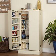 Tall Utility Kitchen Pantry Storage Organizer Hutch Cabinet Buffet Cabinet NEW