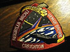 NASA Space Shuttle Discovery UARS 1991 USA Rocket Embroidered Crew Jacket Patch
