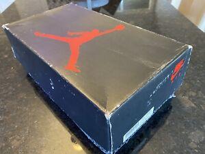 Air Jordan III 1988 Shoe Box Only 4368 Made In Taiwan - RARE