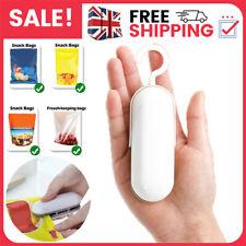 More details for portable mini heat sealer household handheld sealing machine plastic food bag uk