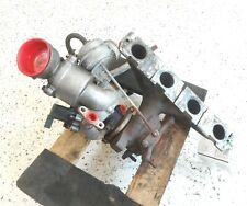 10 Volkswagen Passat 2.0L CBFA Turbocharger W/ Exhaust Manifold OEM Audi A3