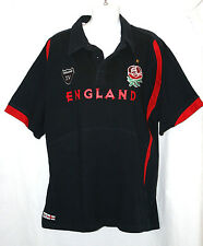 England XV Rugby Supporters Short Sleeve Shirt St George Red Rose Size XXL