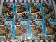21st Birthday wrapping paper 24 sheets. old steam engine 21 today