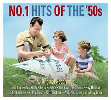 No.1 Hits Of The 50s VARIOUS ARTISTS Not Now Music BEST OF 75 SONGS New 3 CD