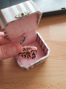 Juicy Couture Charm - Pink Clutch Handbag - boxed and never been on bracelet