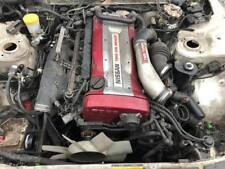 NISSAN SKYLINE R32 GTR RB26DETT COMPLETE ENGINE GEARBOX FRONT CUT HUBS CALIPERS