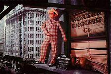 "Harold Lloyd Mad Wednesday 1947 4x6"" Postcard Movieland Wax Museum"