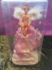 GISELA GRAHAM PINK CHRISTMAS TREE TOPPER ANGEL FAIRY -  18cm - 51