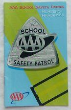AAA School Safety Patrol Member's Handbook Paperback Booklet Unused 15 Pages