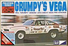 MPC Grumpy's Vega '72 Chevy Vega Stocker Plastic Model #MPC87712 1:25 Scale