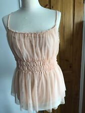 H&M Nude Strappy Top Size M