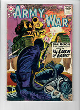 OUR ARMY AT WAR #92 - Grade 5.0 - Joe Kubert art! Sgt. Rock!