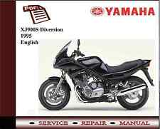 Yamaha XJ900S Diversion 1995 workshop Service repair Manual