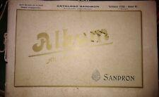 Catalogo Sandron periodico semestrale Gennaio 1928-Anno VI Album Ali alla Patria