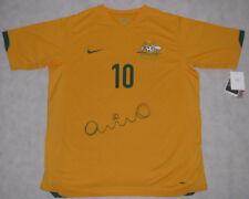 HARRY KEWELL Hand Signed 2010 Australia Soccer Shirt HUGE SIGNATURE *Photo Proof