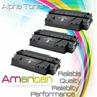 3PK Q7553X 53X Black Toner Cartridge For HP Laserjet M2727 M2727nf M2727nfs MFP