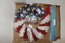 "New 2005 Avon Americana Wreath 10"" Door Wall Patriotic July 4th Decoration BNIB"