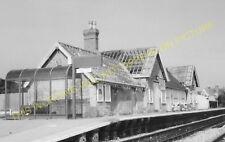 Bicester London Road Railway Station Photo. Launton - Wendlebury. (6)