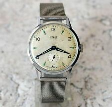 1-1957 year Ussr Rare Serviced by master Watch Start mens wrist watch 17 Jewels