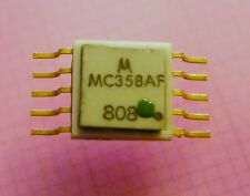 2x MC358AF Single J-K Flip-Flop (MECL), Motorola