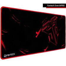 Extended Gaming Mouse Pad with Stitched Edges Fantech Sven MP80 Black-Red