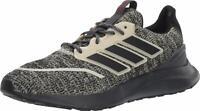 adidas Men's Energyfalcon Adiwear Running Shoes Size 8 Sand/Core Black/Grey Six
