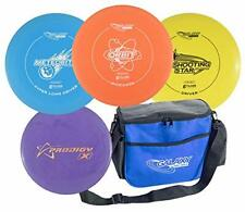 Infinite Discs Galaxy Disc Golf Starter Set with Bag and Bonus Putter